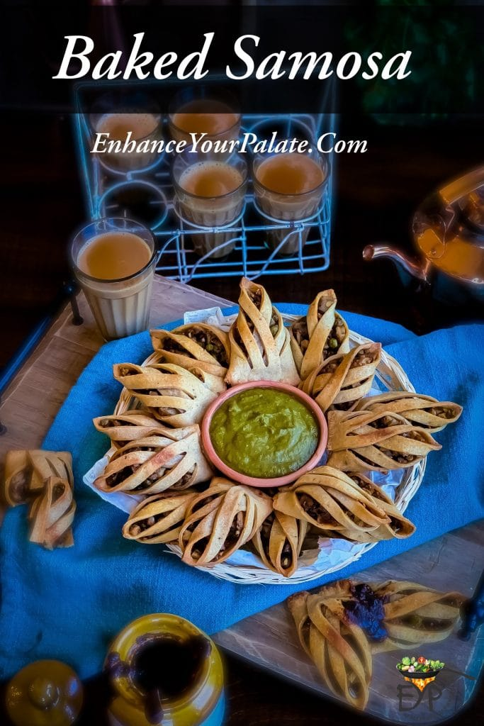 Baked Samosa Recipe with Enhanced Crust and Filling