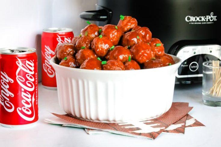 Crockpot Coca-Cola Meatballs Recipe
