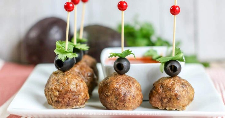 Delicious Cheese-Stuffed Taco Meatballs Party Appetizer