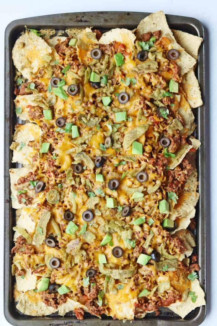 Crispy Jalapeño Loaded Nachos Recipe Baked in the Oven