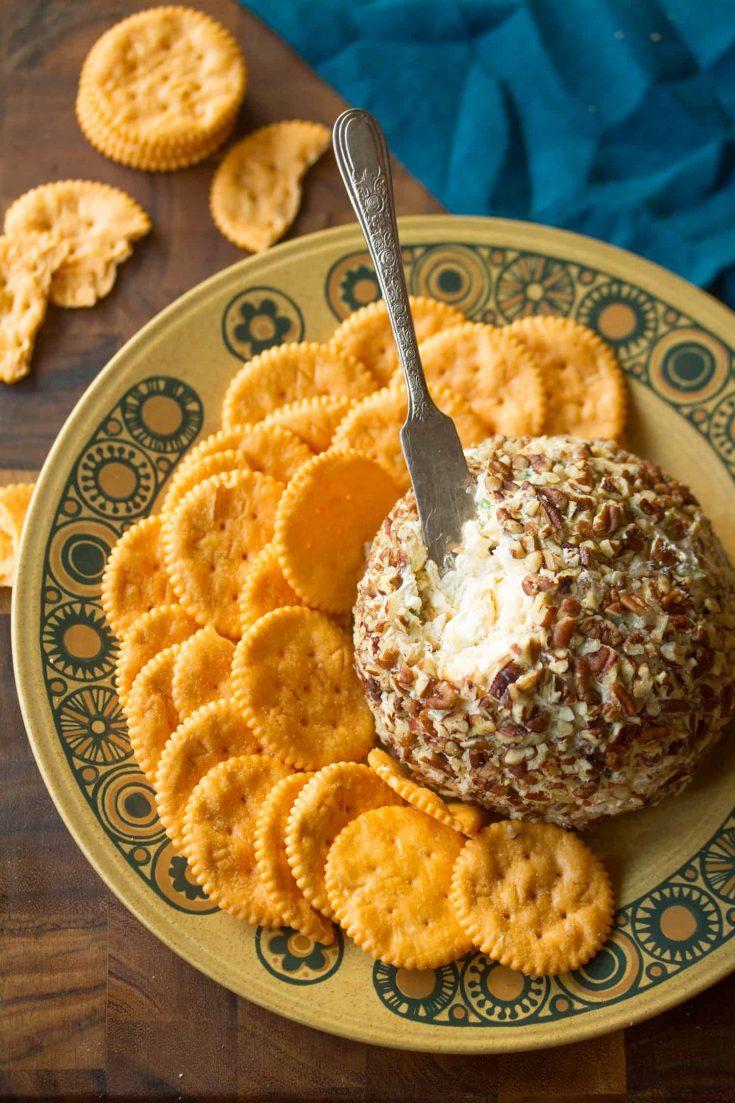Pineapple-Pecan Cheese Ball | Crumb: A Food Blog