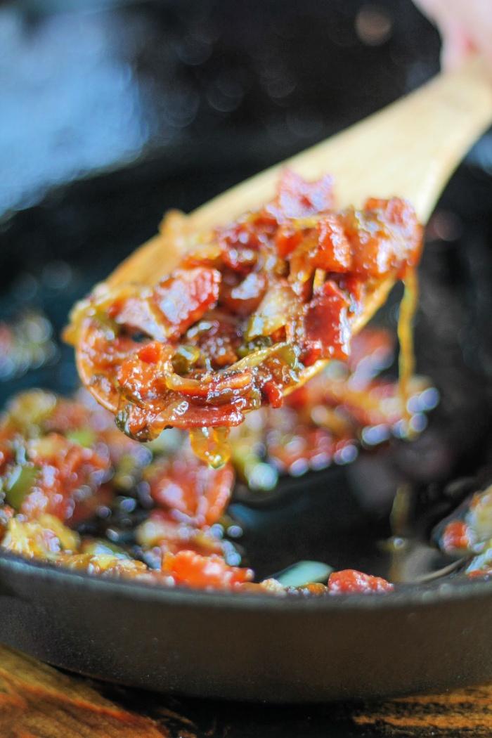 Spicy Bacon Onion Chutney