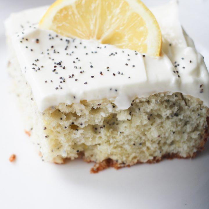 Lemon Poppyseed Cake