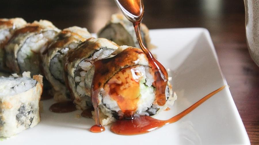Tempura Fried Sushi Roll