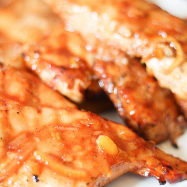 Orange Marmalade BBQ Chicken