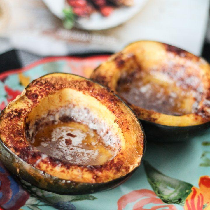Maple Cinnamon Acorn Squash