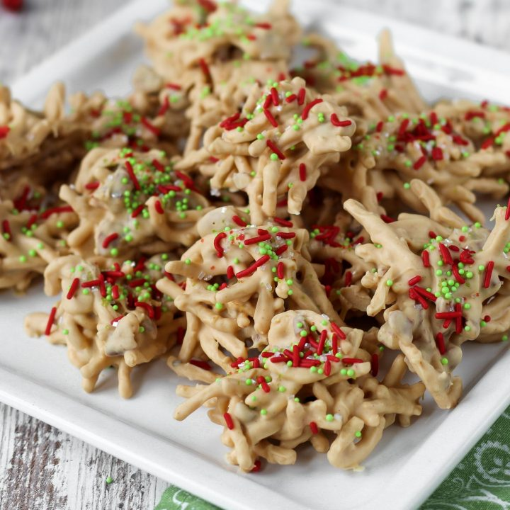 Christmas Haystack Cookies