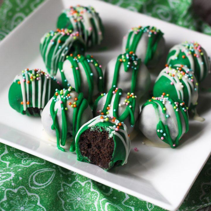 Mint Oreo Cake Balls