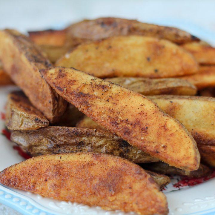 Spicy Oven Potato Wedges