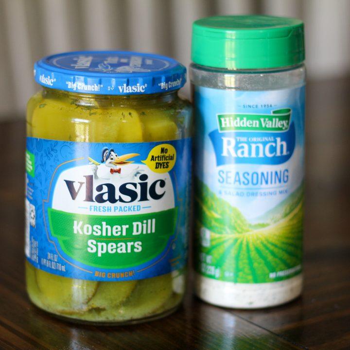 Tik Tok Ranch Dill Pickles